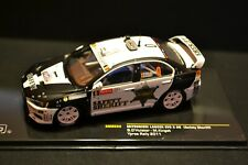Mitsubishi Lancer EVO X Safety Sheriff Ypres Rally 2011 diecast in scale 1/43