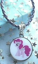 PINKY PIE MY LITTLE PONY LEATHER PURPLE 16 INCH 2 to 4 Y GIFT BOX BIRTHDAY PARTY