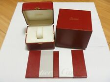 Vintage 1990/2000's Cartier Watch Box Case COWA0031 Booklet - DELUXE!