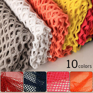1M Fish Net Mesh Cloth Fabric Hollow Mesh Lace Dress Costume Stretch Material