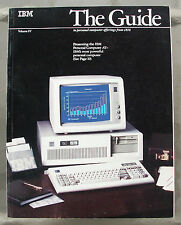 IBM The Guide to Personal Computer Offerings Vol IV 1985