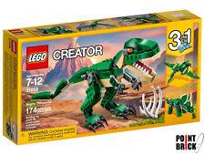 LEGO 31058 CREATOR 3 in 1 Dinosauro - T-Rex Pterodattilo Triceratopo