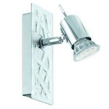 Lampade da parete da interno plastici argento , Tipo di presa GU10