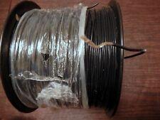100'-Teflon 16 AWG PTFE Wire Silver Plated Copper  M16878/4-BJE-0 Black