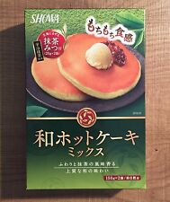 "Showa, Matcha Pan Cake Mix, ""hot cake"", Easy to Cook, 300g, Japan"