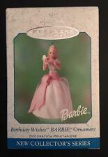 Hallmark: BIRTHDAY WISHES BARBIE Ornament - #1 in Series - Dated 2001