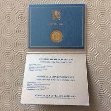 Coffret de 2 € commémoratif Vatican 2012