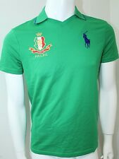 Polo By Ralph Lauren Sport Performance Jersey Athletic Polo Small Green NWT