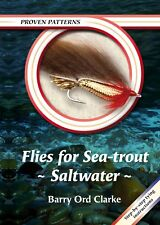 ORD CLARKE FISHING BOOK PROVEN PATTERNS SERIES FLIES FOR SEATROUT SALTWATER barg