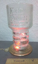 LORD OF THE RINGS Fellowship, Light-Up Glass Chalice Mug Cup, FRODO , WORKS