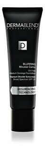 Dermablend Blurring Mousse Camo Oil-Free Foundation Makeup with SPF 25, Medium t