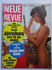 Neue Revue 21/1973, Heinz Rühmann, Rosa Fumetto, Belmondo, Laura Antonelli