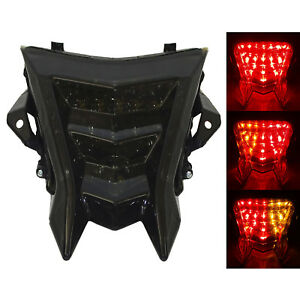 Led Integrated Taillight with Turn Signal Light Smoke For BMW HP4 S1000R S1000RR