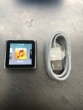 Apple iPod nano 6th Generation Graphite (8 GB) Gently Used