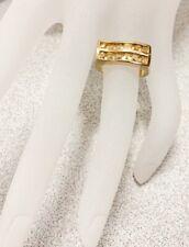 2.04ctw Gorgeous GENUINE CITRINE STONE RING #9 New!!