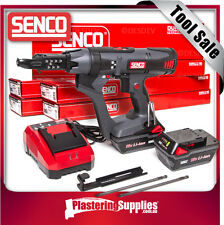 "Senco Screwgun 2"" Cordless Auto-Feed Plaster 5000RPM + 6000 Screws DS215-18V"
