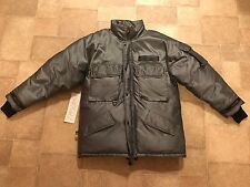 VINTAGE RARE FIRST DOWN OVERFILLED DOWN JACKET SKI REFLECTIVE HEAVY MENS M