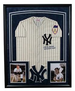 "Beautiful Mickey Mantle ""The Commerce Comet"" Signed New York Yankees Jersey JSA"
