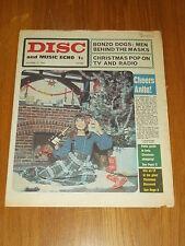 DISC AND MUSIC ECHO DECEMBER 21 1968 BONZO DOGS ANITA HARRIS JOHN LENNON