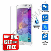 NEW 100% Genuine Tempered Glass Screen Protector For Samsung Galaxy Note 4