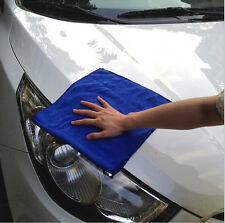 Microfiber Absorbent Towel Car Clean Wash Polish Multi-function Towel Blue 6PCS