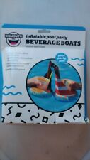 New ListingInflatable Pool Party Beverage Boats