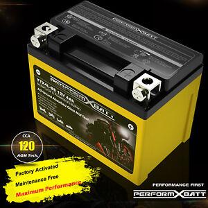 YTX4L-BS AGM Battery 110cc Kawasaki KLX110 KLX110L Honda CT110 CRF110 F NBC110