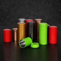 Portable Mini Travel Metal Tin Tea Sugar Coffee Tea Sealed Box Jar Canister