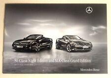 Mercedes . SL Night Edition : SLK Grand Edition . January 2010 Sales Brochure