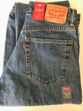 Levi's Men's 550 Relaxed Fit Jeans $25 OFF NEW Size 32 x 36 MSRP $59.50