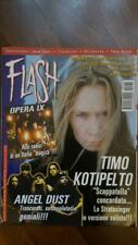 rivista FLASH 160/2002 Timo Kotipelto, Angel Dust, Lana Lane, Helloween,Opera IX