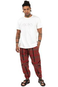 BOSS HUGO BOSS T-Shirt Top Size XXL Glued Logo Short Sleeve Crew Neck