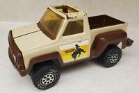 Tonka Cowboy Pickup Truck Vintage 1979 Brown Tan Yellow Orange