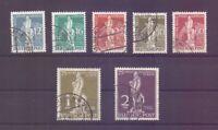 Berlin 1949 - UPU Stephan - MiNr. 35/41 rund gestempelt - Michel 320,00 € (147)