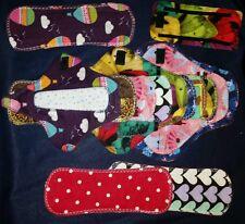 Reusable Mama Cloth Menstrual pad SALE(kit) Random Print 8 items.