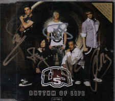 US5-Rhythm Of Life cd maxi single incl video Signed By the Members