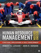 Human Resource Management: Functions, Applications, and Skill Development  Lussi