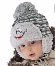 Winter Hat Striped Baby Caps & Hats