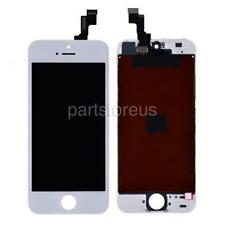 White LCD Display + Screen Touch Digitizer Repalcement For Apple iPhone 5S SE
