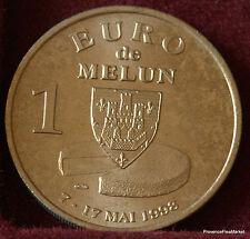 MELUN 1 EURO TEMPORAIRE DES VILLES 1998 FDC 1082A60