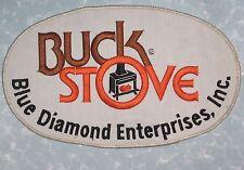 """Buck Stove Blue Diamond Enterprises, Inc.Patch - large size patch!    10"""" x 6"""""""