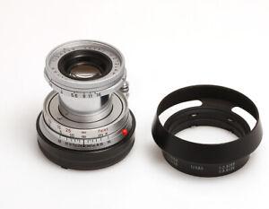 Leica Leitz Wetzlar Elmar 2,8/50 mmm #2188533 für Leica M