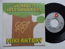 MIKI ANTONY We made it last summertime 640039