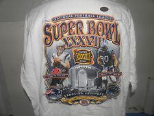 NFL SUPER BOWL XXXVIII 38 BRADY-PEPPERS T-SHIRT SIZE 2XL NWOT