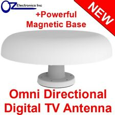 Omni-Directional UHF/VHF Digital TV Radio Amplified Digital Antenna Boat Caravan