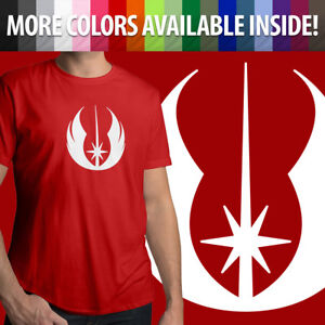 Star Wars Legacy Old Jedi Order Symbol Logo Mens Crew Neck Tee Unisex T-Shirt