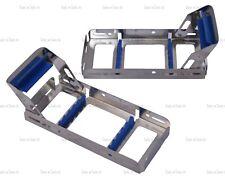 Bandeja De Rack De Cassette FIX bloqueo esterilización sostener 5 Dental Instruments Autoclave