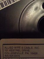 M22759/11-20-0 Military High Temp Lead Wire,20awg Black Sold in 10 Ft Increments