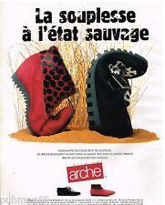 Publicité Advertising 1992 Les Chaussures Arche