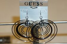 GUESS 136598-21 Loops Earrings FREE DELIVERY FAST SHIP